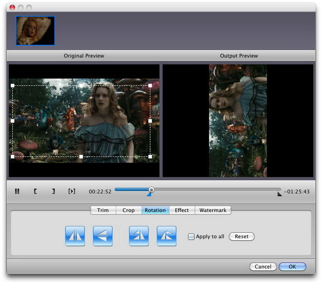 How to rotate videos for special angle of view leawo support center rotate video angle ccuart Image collections