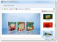 Burn AVI to DVD with DVD Maker