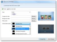 Edit disc menu