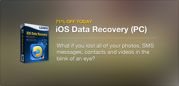 iOS Data Recovery promotion