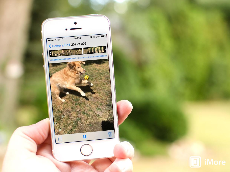 Как сделать движущееся iphone 6s