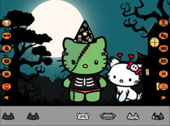 Halloween Dress Up - Hello Kitty edition