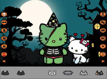 Halloween Dress Up - Hello Kitty edition