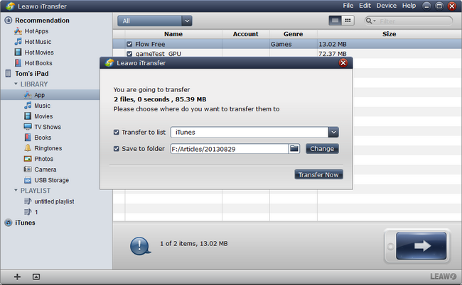 how-to-backup-iPad-to-computer-with-Leawo-iTransfer-02