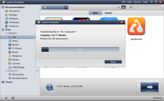 how-to-backup-iPad-to-computer-with-Leawo-iTransfer-03