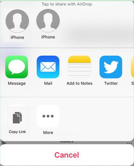 send voice memos from iPhone to iPhone