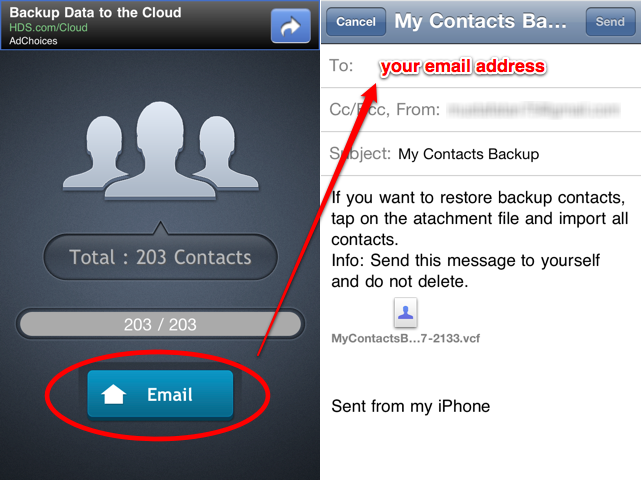 backup iphone contacts how to transfer contacts from iphone to android phone 10215
