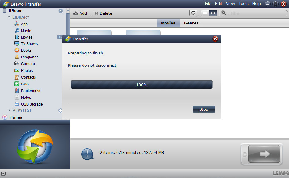 How to Transfer Videos from PC to iPhone Without iTunes-03