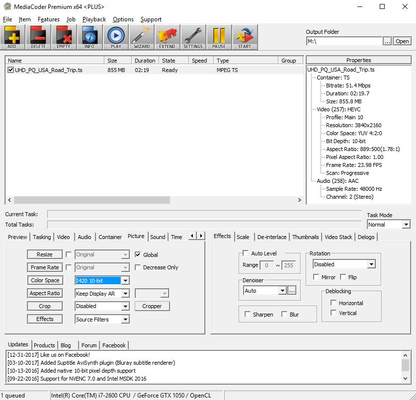 MKV-to-3GP-MediaCoder-07