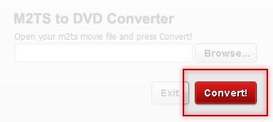 Free M2TS to DVD Converter - Convert M2TS file