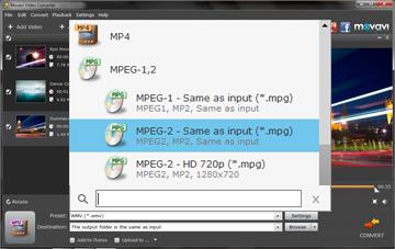 set-mpeg-as-output-format