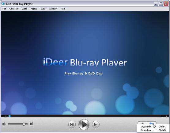 iDeer Blu-ray Player for Windows