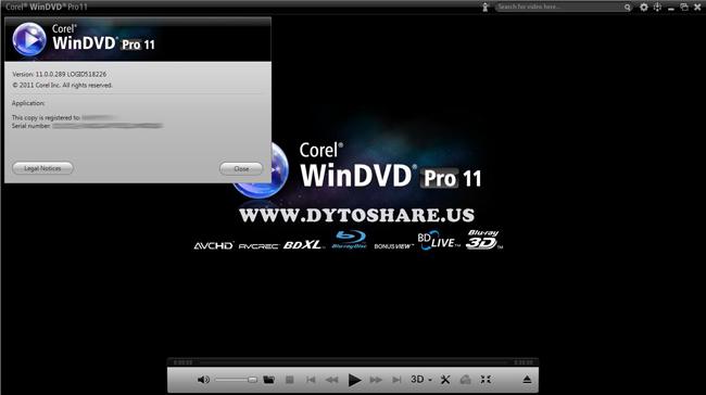 WinDVD Pro 11