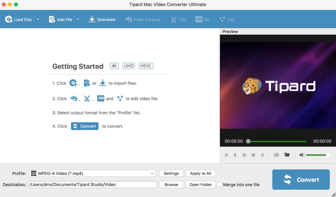 FLV-to-MP3-on-Mac-Tipard-Video-Converter-04