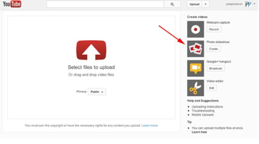 Making-YouTube-Slideshow-YouTube-enter-01