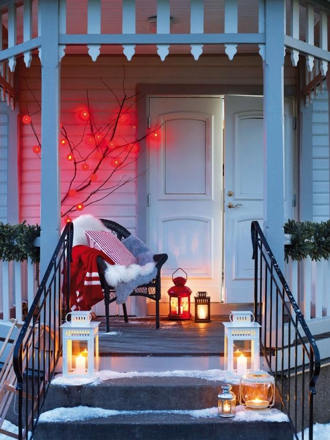 Christmas Candles and Lanterns