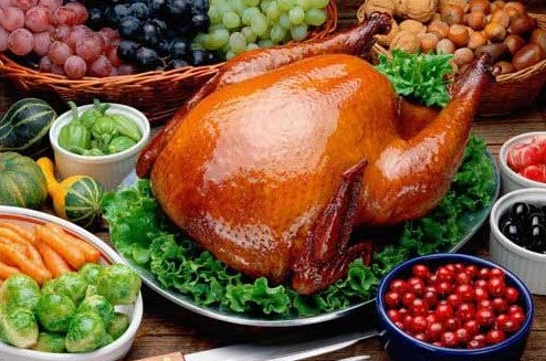 roasted goose
