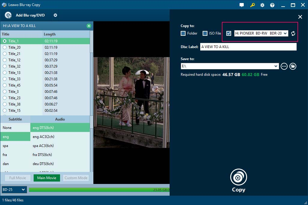 copy bluray disc to hard drive and disc leawo tutorial