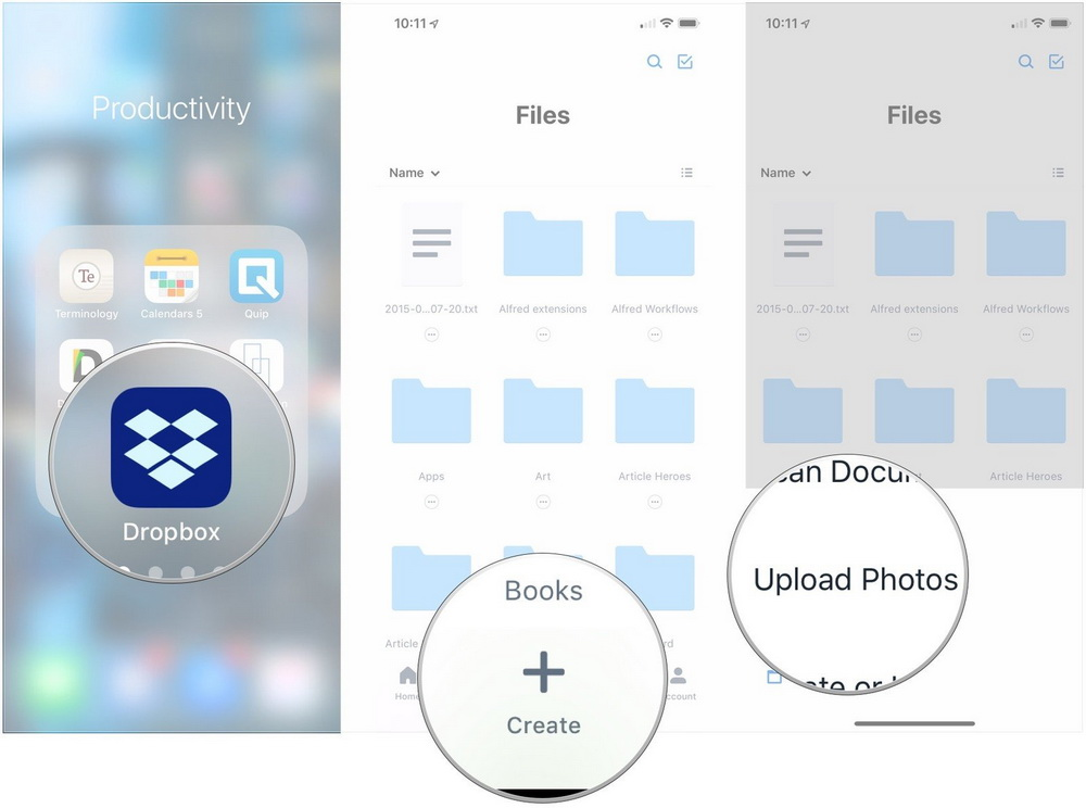 send-videos-from-iphone-to-android-dropbox-iPhone-5