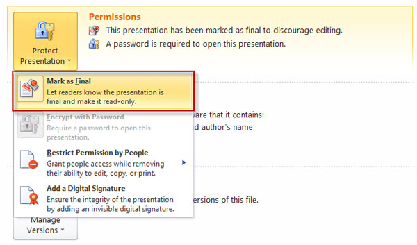 how to unlock a password protected ppt file