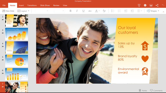 Microsoft PowerPoint for Mobile