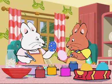 Easter with Max and Ruby
