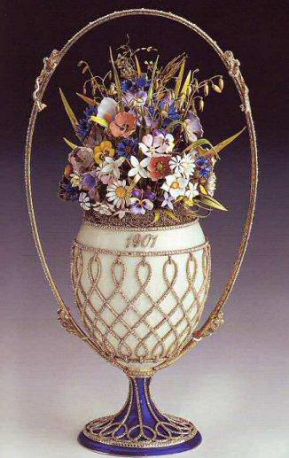 Flower Basket Egg