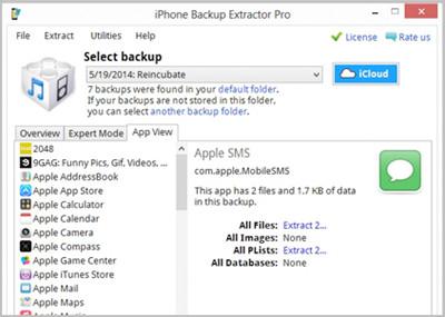 IPhone Backup-Software für Windows 7