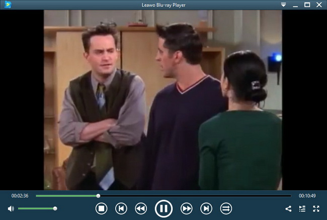 Friends Blu-ray Player