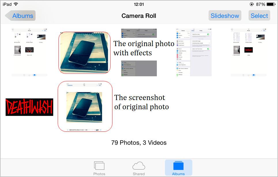 iPad Photos