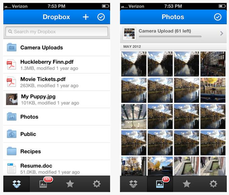 Dropbox для iphone - фото 3