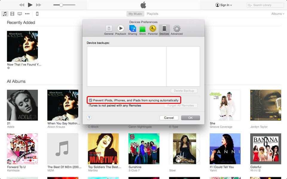 how to put music on your iphone using itunes