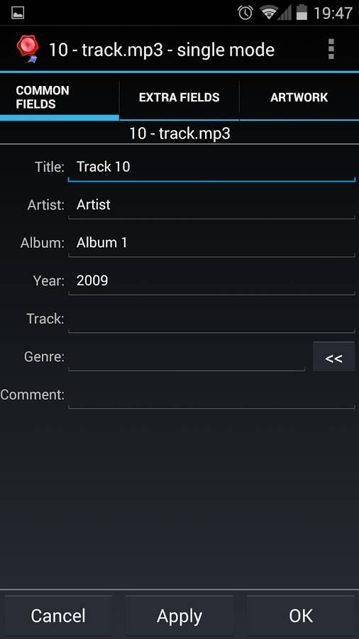 audiotagger
