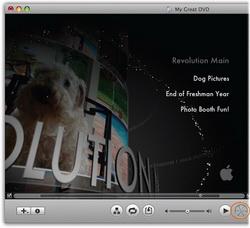 Burn photo slideshwo to DVD in iDVD