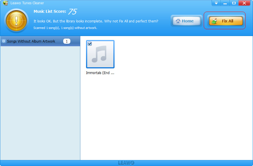 How to Get Album Artwork on iTunes | Leawo Tutorial Center