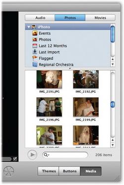Open slideshow in iDVD
