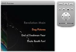 Preview DVD photo slideshow