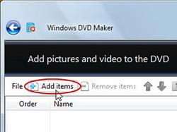 Add photo slideshow