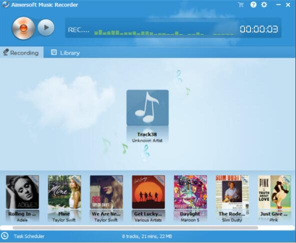 How to Record Audio from YouTube with Aimersoft Music Recorder-03