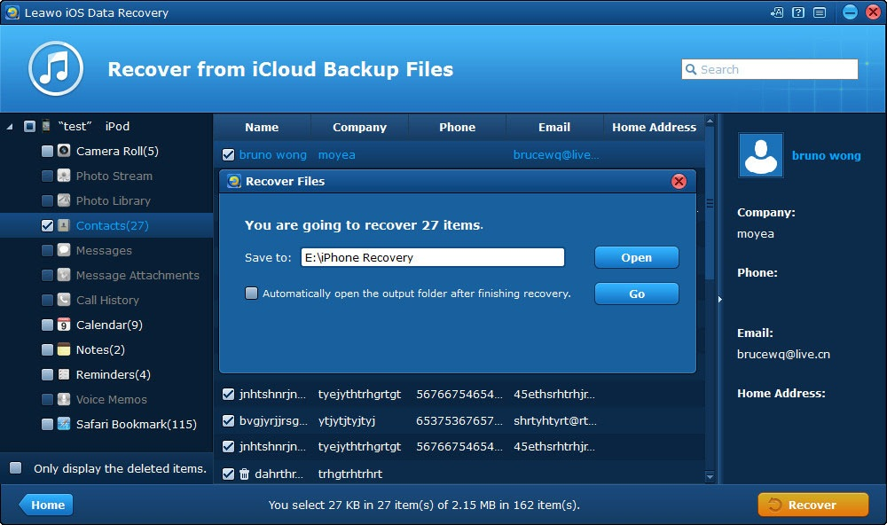 how to select folder on icloud photos to download