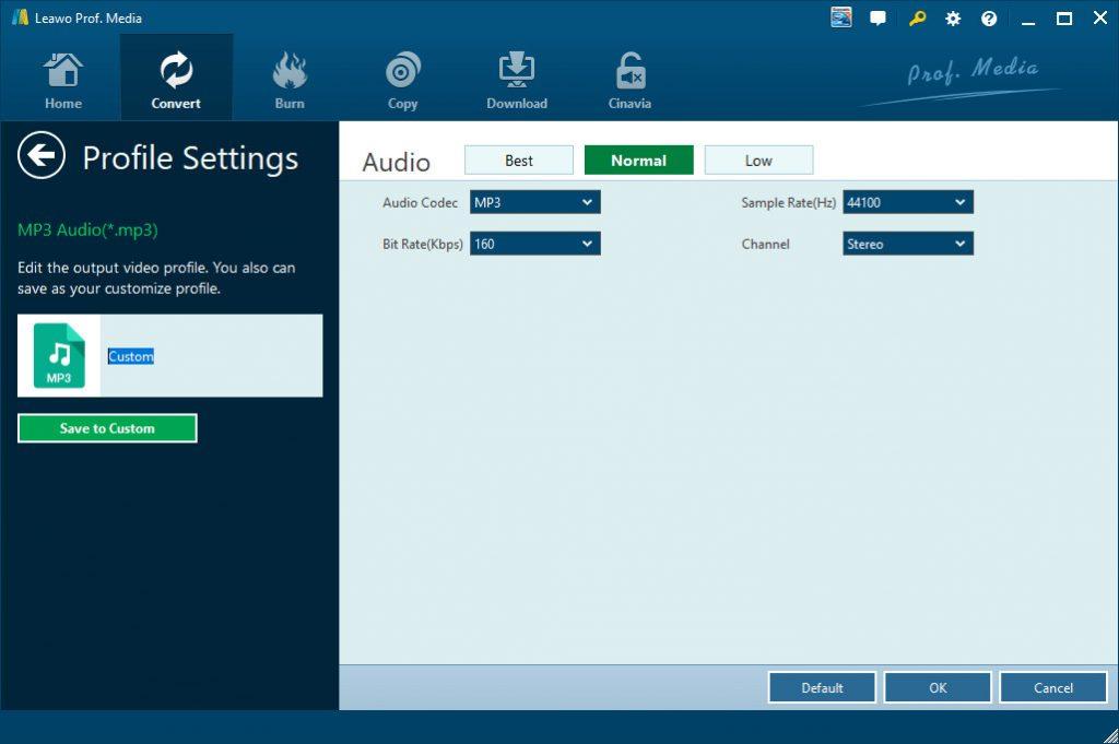 convert-dvd-to-mp3-via-leawo-dvd-ripper-profile-settings