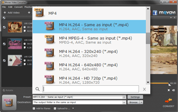 set-mp4-as-output-format