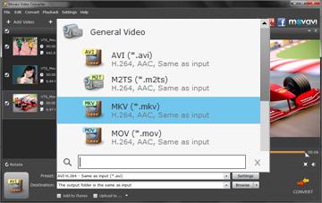 movavi-choose-mkv-output-format