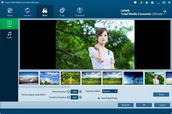 Edit photo slideshow