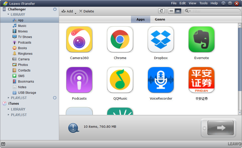 choose Apps