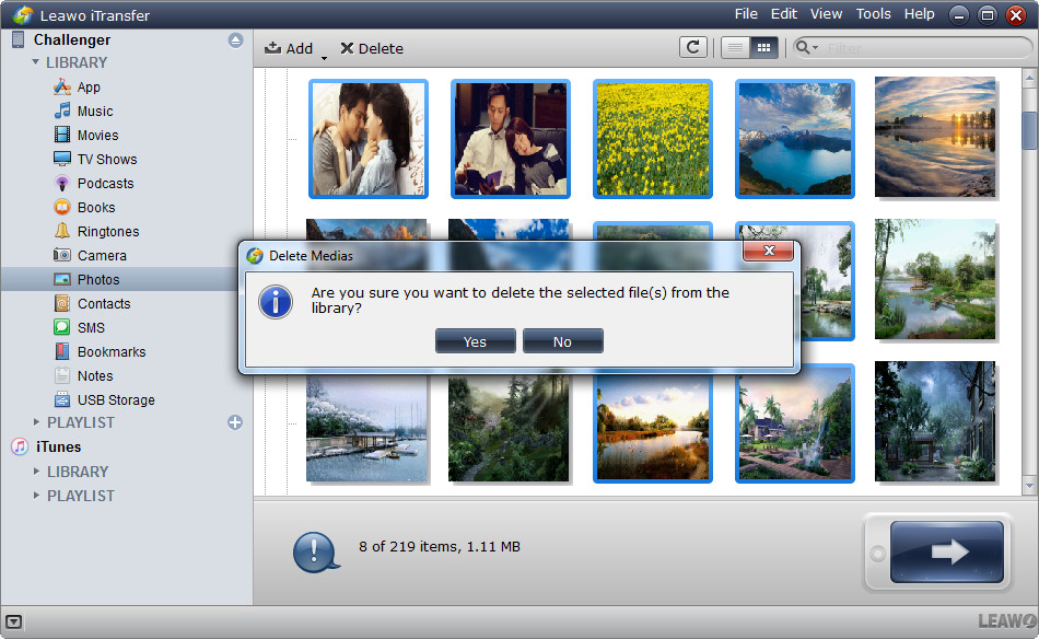 delete photos in batch