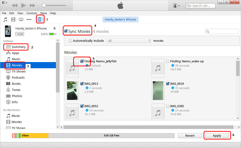 Re-sync iPhone with iTunes