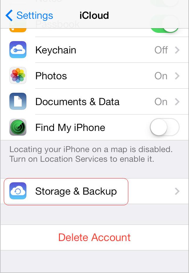 Tap Storage