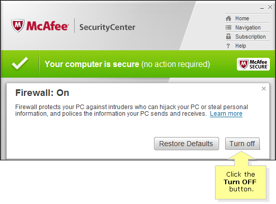 turn-off-security-software