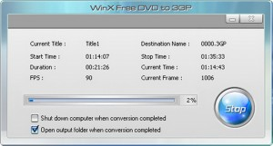 Load the source DVD file